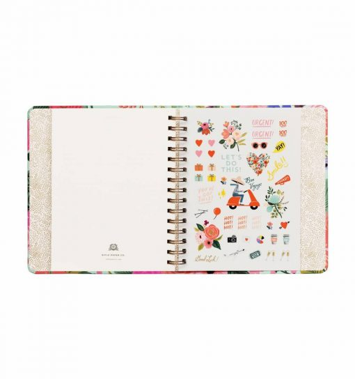 Agenda Rifle Paper Co 2020 Wild Rose – Spirales