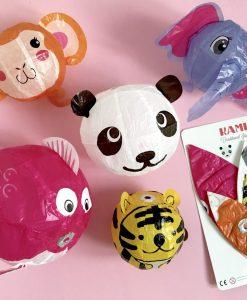 Ballons japonais en papier Omm Design – lot de 5