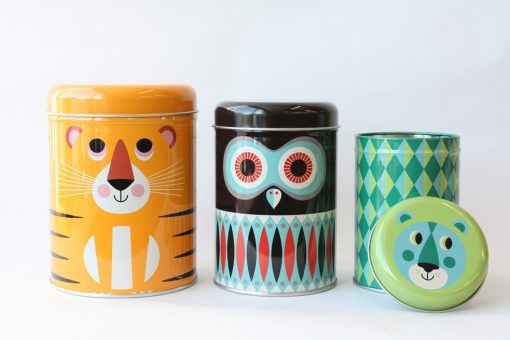 Set de 3 boîtes en métal Omm Design / Ingela Arrhenius