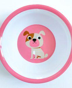 Bol Chien OMM Design / Ingela P Arrehnius Pink dog