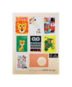 Cartes Ingela Arrhenius 7 cartes + enveloppes