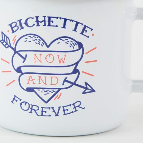 Mug émaillé Bichette forever Lolita Picco