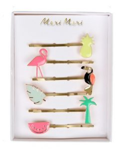 Barrettes Tropical Meri Meri set de 6