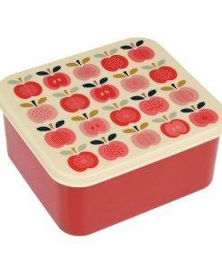 Boîte à goûter Apple vintage Rex