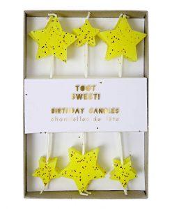 Bougies étoiles Meri Meri set de 12