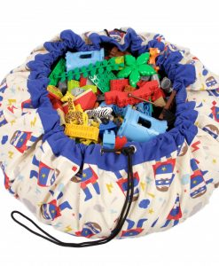 Grand sac de rangement Play and Go Superhero