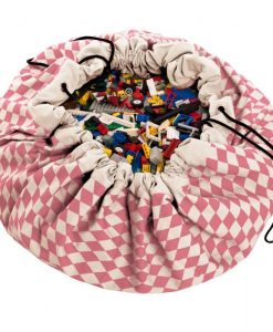 Grand sac de rangement Play and Go Diamand rose