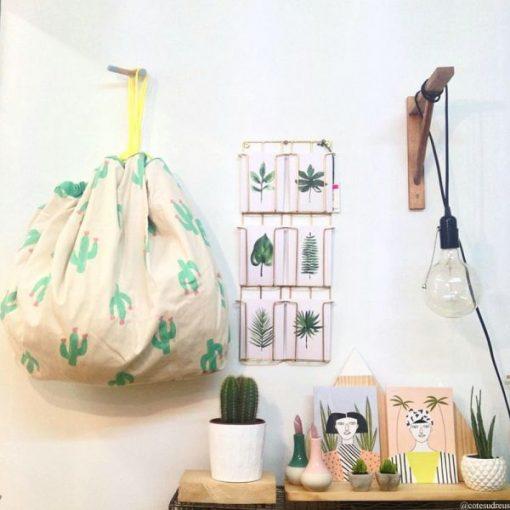 Sac / Tapis de jeu Play and Go cactus