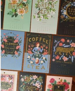 Calendrier 2020 Rifle Paper Co Coffee and Tea