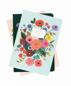 Set de 3 carnets Rifle Paper Co Bouquet