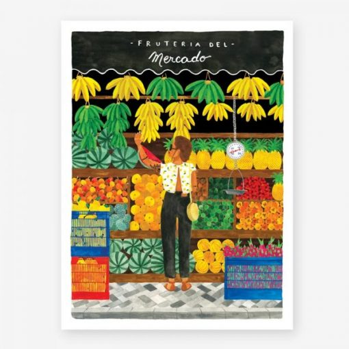 Affiche All the Ways to Say Fruteria