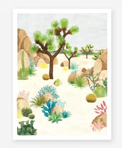 Affiche Joshua tree All the Ways to Say – Format au choix