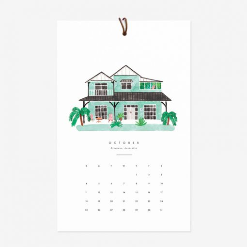 Calendrier 2020 All the Ways to Say Dream homes