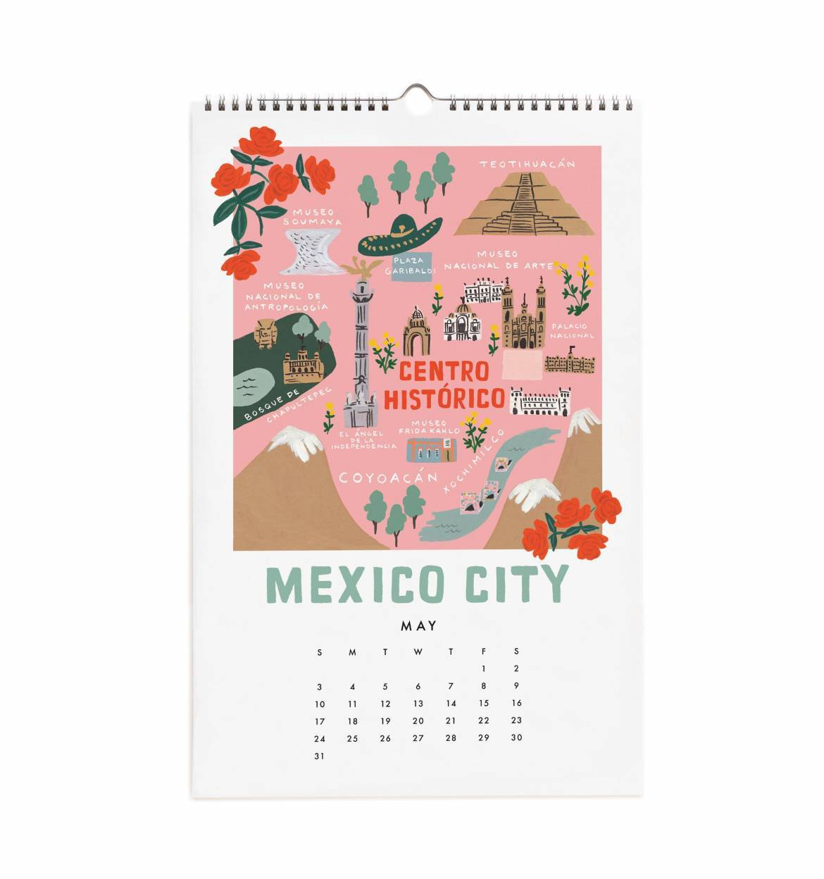 Calendrier Plantation 2020.Calendrier Rifle Paper Co City Maps 2020