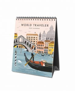 Calendrier Rifle Paper Co 2020 World Traveler
