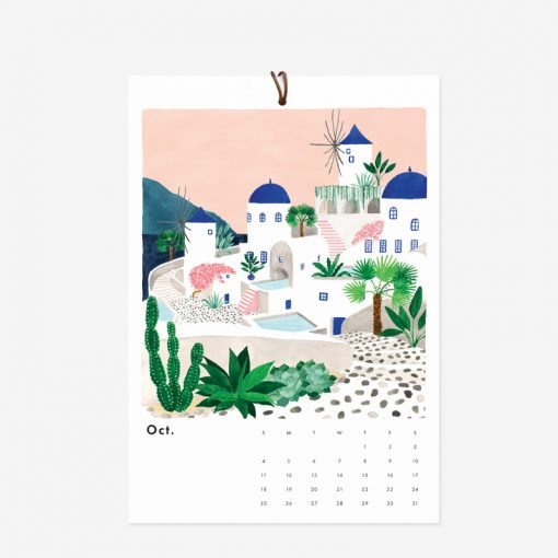 Calendrier 2020 All the Ways to Say Wanderlust