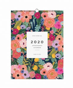 Calendrier 2020 Rifle Paper Co Garden Blooms