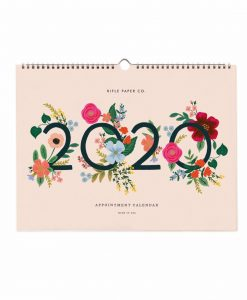 Calendrier 2020 Rifle Paper Co Wild Rose