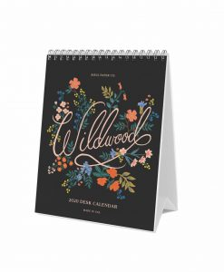 Calendrier Rifle Paper Co 2020 Wildwood