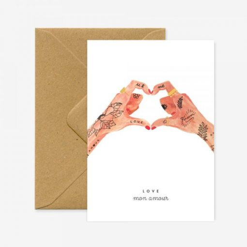 Carte Hands of love All The Ways To Say