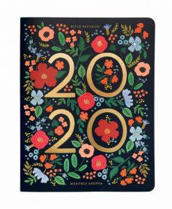 Agenda / carnet de RDV Wild Rose 2020 Rifle Paper Co