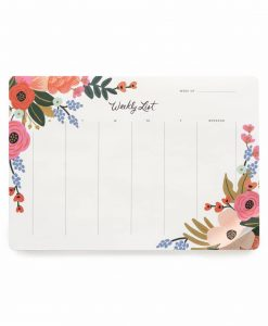 Semainier Rifle Paper Co Lively Floral