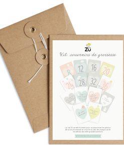 Kit Souvenirs de grossesse ZÜ