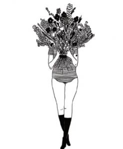 Affiche Flower girl Helen B