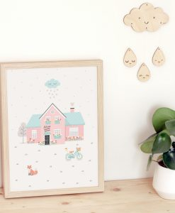 Affiche maison Home Sweet home