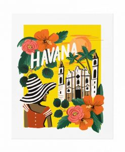 Affiche Rifle Paper Co La Havane