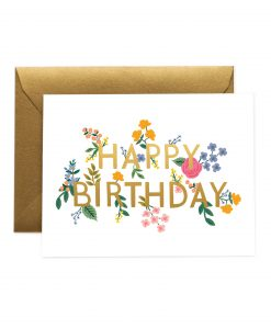 Carte anniversaire Rifle Paper Co Wildwood