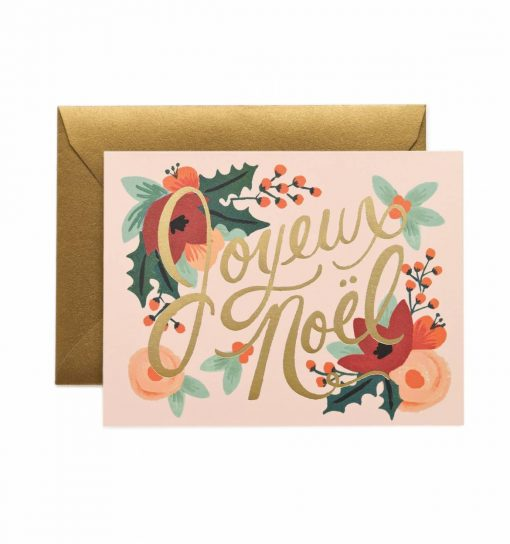 Carte Joyeux Noël Rifle Paper Co