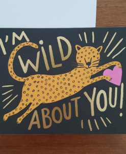 Carte amour Rifle Paper Co Wild about you
