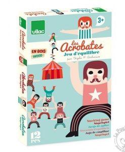 Jeu d'équilibre Les Acrobates Ingela P. Arrhenius & Vilac