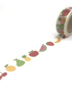 Masking tape Fruits