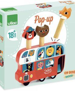 Pop up autobus Ingela Arrhenius / Vilac
