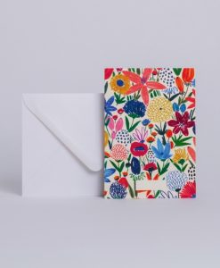 Carte message Season Paper Fleurs sauvages