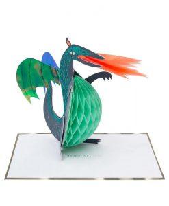 Carte anniversaire Dragon Meri Meri