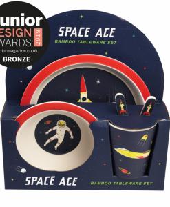 Coffret repas enfant Cosmonaute Rex