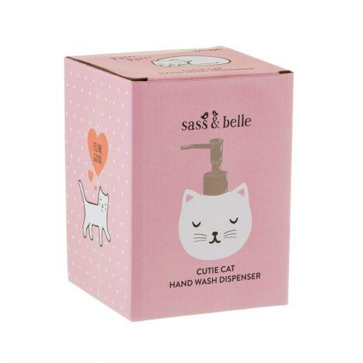 Distributeur de savon chat Sass and Belle