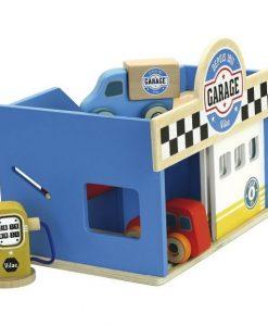 Petit garage en bois Vilac