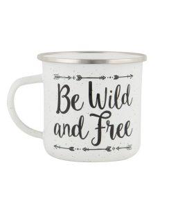 Mug Be wild and free