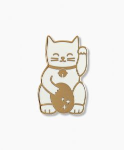 Pin's Lucky cat Audrey Jeanne