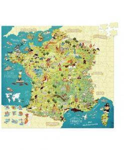 Puzzle carte de France Vilac