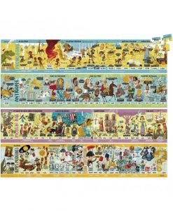 Puzzle grande frise historique Vilac