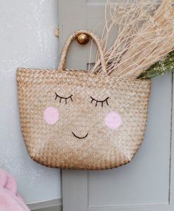 Sac en paille Happy