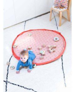Tapis d'éveil / Sac à langer Visages d'animaux Play and Go