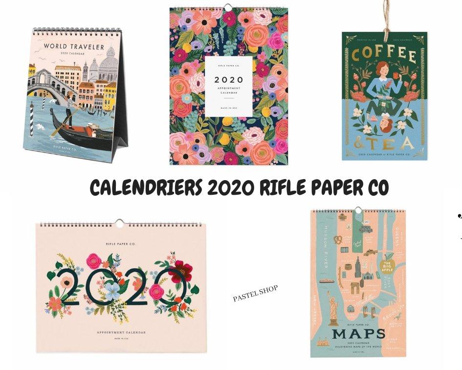calendriers riflepaperco