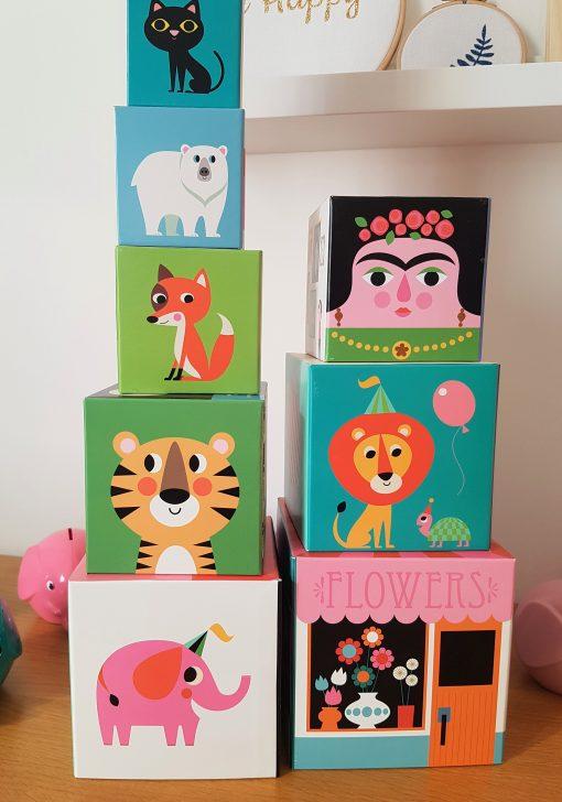Cubes à empiler Ingela Arrhenius – OMM Design