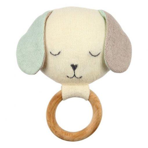 Hochet chien coton biologique